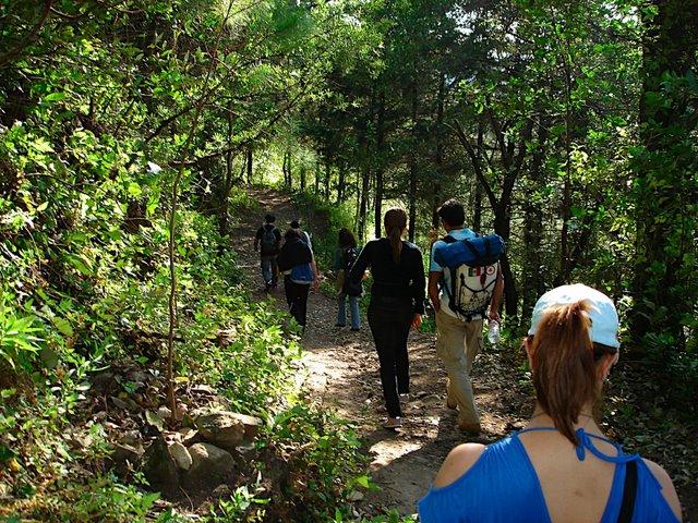 Hiking at Casa de la Vida, Tepoztlán, Mexico