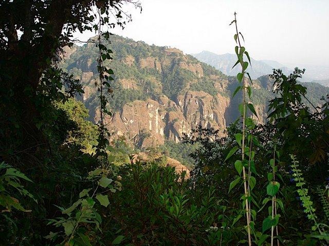 Vista de las montañas durante una caminata