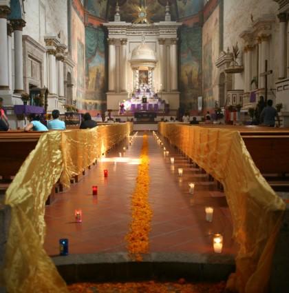 La Iglesia In Tepoztlan, Mexico