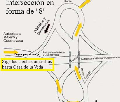 Mapa 5: Casa de la Vida en Tepoztlán, México