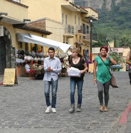 Aventuras en Tepoztlán