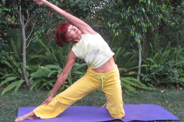 Yoga en Casa de la Vida, Tepoztlan, Mexico. Retiro de Desintoxicacion y Yoga